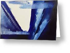 Blue Abyss Greeting Card