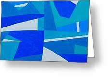 Blue Alet Greeting Card