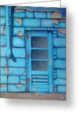 Blue Alley Greeting Card