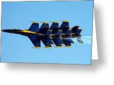 Blue Angels 1-4 Greeting Card