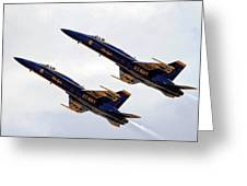 Blue Angels Iv Greeting Card