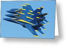 Blue Angels Greeting Card