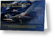 Blue Angels Ta-4j Skyhawk Greeting Card
