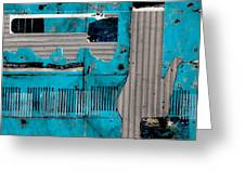 Blue Bag Ditty  Greeting Card