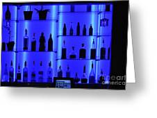 Blue Bar Greeting Card