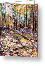 Blue Bell Woods Greeting Card