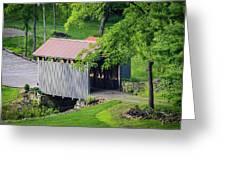 Blue Bird Farm Greeting Card