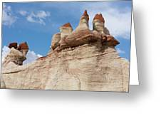 Blue Canyon Minarets Greeting Card