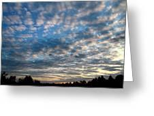 Blue Cloud  Neelamegam Greeting Card