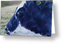 Blue Coo Greeting Card