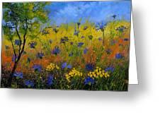 Blue Cornflowers 7761 Greeting Card