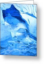 Blue Cove Greeting Card