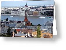 Blue Danube Greeting Card