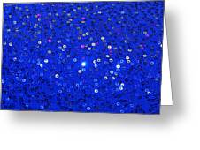 Blue Dress Greeting Card