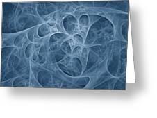Blue Fugue Greeting Card