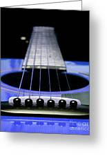 Blue Guitar 14 Greeting Card