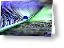 Blue Gypsy Greeting Card