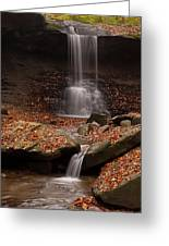 Blue Hen Falls And Cascade Greeting Card