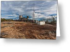 Blue Hill Weather Observatory Greeting Card