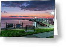 Blue Hour At Cape Shores Greeting Card