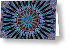 Blue Jewel Starlet Greeting Card