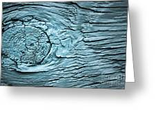 Blue Knot Greeting Card