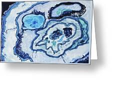 Blue Lace Agate I Greeting Card