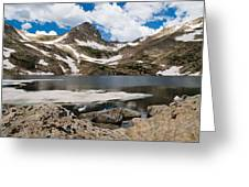 Blue Lake Colorado Greeting Card