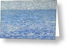 Blue Majesty Greeting Card