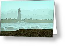 Blue Mist 2 Greeting Card