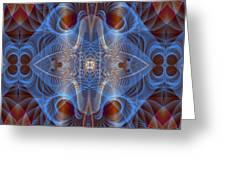 Blue Mosi-oa-tunya 1 Greeting Card