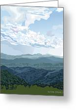 Blue Hills Greeting Card