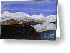 Blue Mountains II Greeting Card