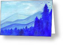Blue Mountains Greeting Card