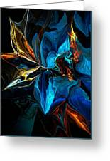 Blue Mystery 062915 Greeting Card