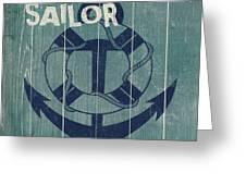 Blue Nautical-jp3614 Greeting Card