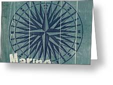 Blue Nautical-jp3616 Greeting Card