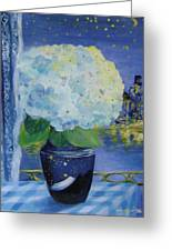Blue Night Greeting Card