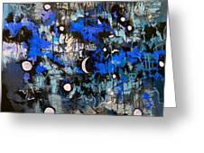Blue Night Greeting Card
