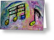 Blue Note Greeting Card