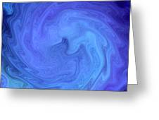 Blue Rendevous Greeting Card