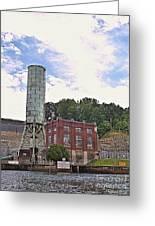 Blue Ridge Dam 4 Greeting Card