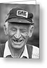 Blue Ridge Farmer Greeting Card