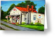 Blue Ridge Grocery Greeting Card