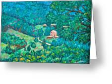 Blue Ridge Magic Greeting Card