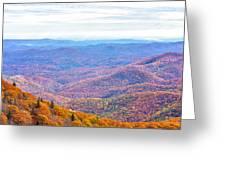 Blue Ridge Mountains 3 Greeting Card