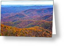 Blue Ridge Mountains 4 Greeting Card