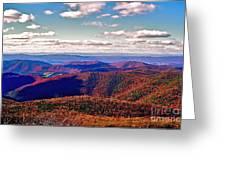 Blue Ridge Of Virginia Greeting Card