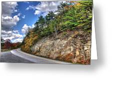 Blue Ridge Parkway, Buena Vista Virginia 3 Greeting Card