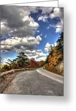 Blue Ridge Parkway, Buena Vista Virginia 4 Greeting Card